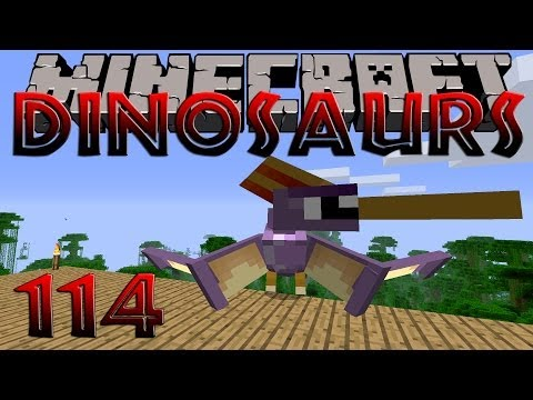 Minecraft Dinosaurs - Part 114 - New Pterosaur Species Discovered!