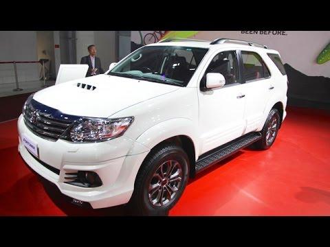Toyota Fortuner TRD Sportivo Platinum Unveiled - Auto Expo 2016