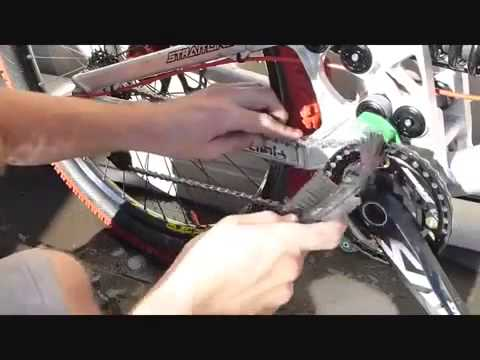 4 How to clean a downhill mountain bike in 10 MINS HD