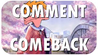 Comment Comeback: I HATE ANIME