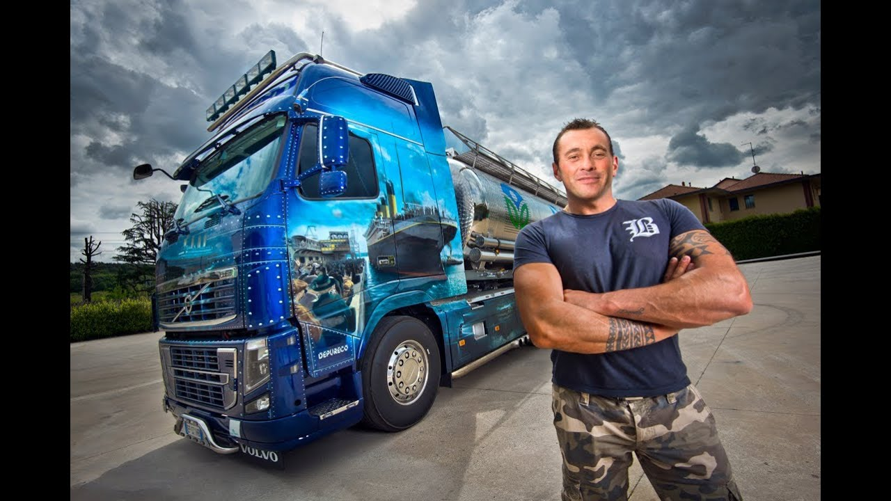 Volvo Trucks - The Titanic Truck -  U0026quot Welcome To My Cab U0026quot