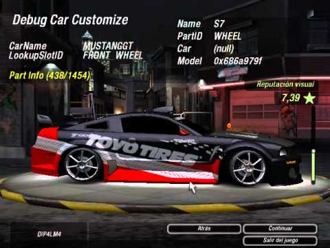 DIP4LM4 Debug Car Need for Speed Underground 2 version US Y EU