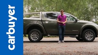 Mitsubishi L200 pickup review - Carbuyer