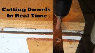 How to make a dowel - simple method