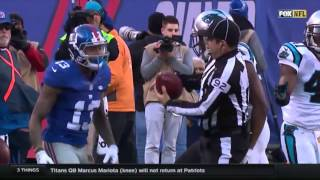 OBJ vs Josh Norman ( OBJ looses his mind )