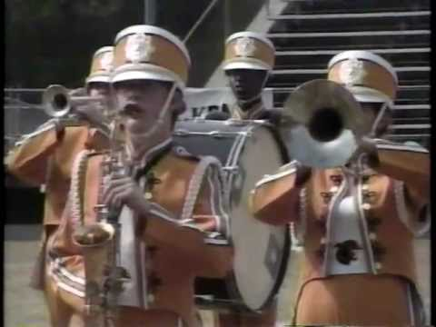 Liberty High School Band 1989 - UIL Region 10 Marching Contest