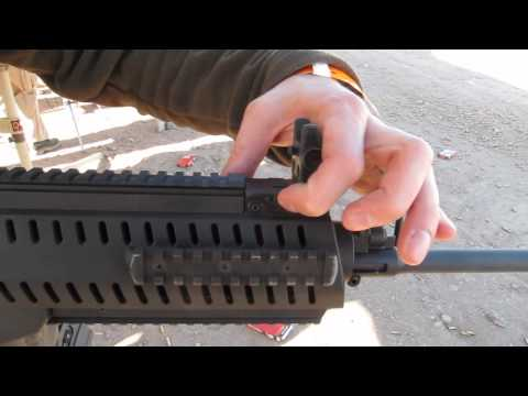 Beretta ARX 22LR Rifle - SHOT Show 2012