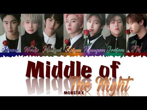 Download MONSTA X 몬스타엑스 - Middle of the night s Color Coded s Eng Mp4 baru