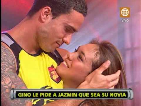 Esto es Guerra: Gino Assereto le pidió a Jazmín Pinedo que sea su novia en pleno programa