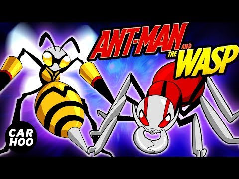 WHAT IF ANT-MAN & WASP WERE POKEMON 【Marvel Superheroes Parody】