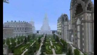 Minecraft Huge Imperial City update 5 + map download