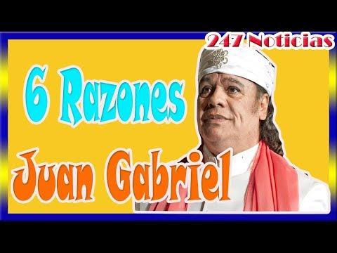 ¡ HACE UNAS HORAS ! Revelan 6 razones por las que Juan Gabriel estaba vivo.