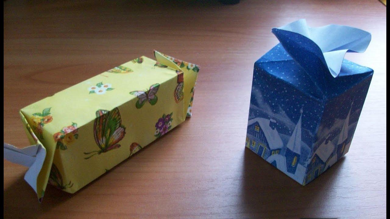 Бумага в коробке от конфет своими руками 446