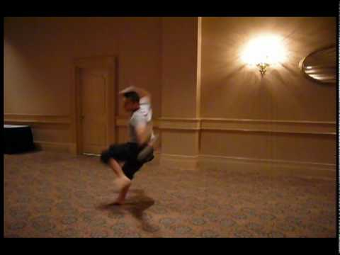 Don and Ray Park Performing Wushu