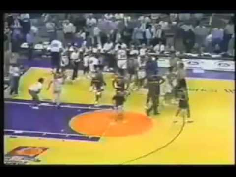 Doc Rivers and Kevin Johnson fight part one