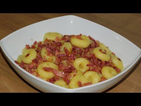 Картофельные клёцки по польски. Галушки по польски.