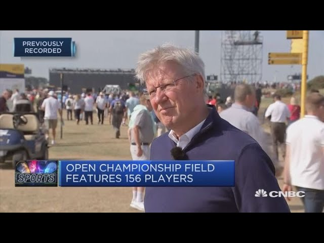 Golfers to face fearsome par-71 Carnoustie golf course | CNBC Sport