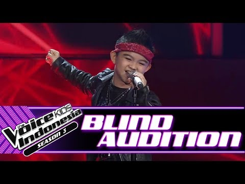 Moses - Welcome To The Jungle  | Blind Auditions | The Voice Kids Indonesia Season 3 GTV 2018