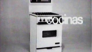 download musica 1960s Corberó Frigorífico Calentador Cocina Publicidad España Spain Anuncio Ad