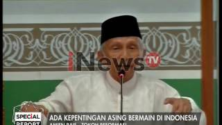 Tausiyah Amien Rais di Masjid AL Azhar - Special Report 15/01
