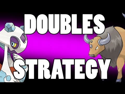 Doubles Strategy for Pokemon X & Y - Froslass Tauros