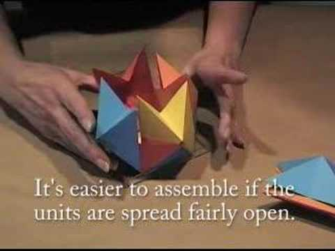 Origami Butterfly Ball Video