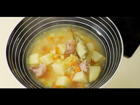 Гороховый суп от Ильи Лазерсона / Обед безбрачия / русская кухня
