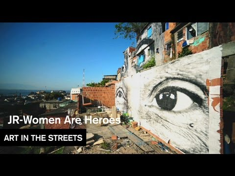 JR - Women Are Heroes (Brazil) - Art in the Streets - MOCAtv Ep. 3