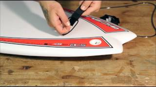 How To Install A Surfboard Leash