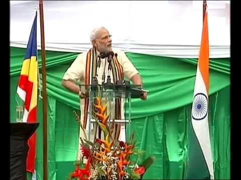 PM Shri Narendra Modi speech at the Civic Reception, in Mahe, Seychelles