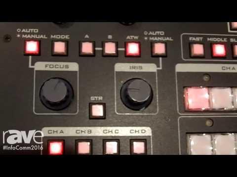 InfoComm 2016: Datavideo Demos PTC-150T
