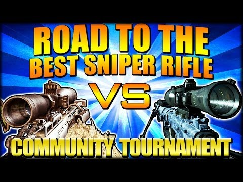 """FINAL FOUR - INTERVENTION vs BARRET .50CAL - """"Road to the Best Sniper Rifle"""" Tou"""