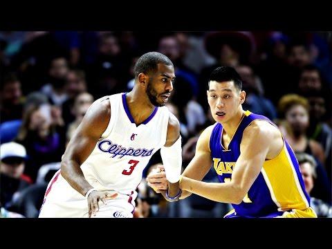 Jeremy Lin林書豪-01/07/2015 Lakers vs Clippers 湖人vs快艇