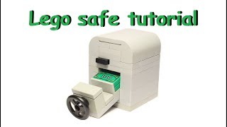 How to build a working Lego Safe (card mechanism)