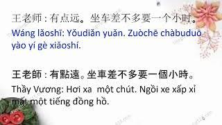 Học tiếng Trung giao tiếp sơ cấp và trung cấp - Bài 1 - 路上顺利吗 Trên đường có thuận lợi không