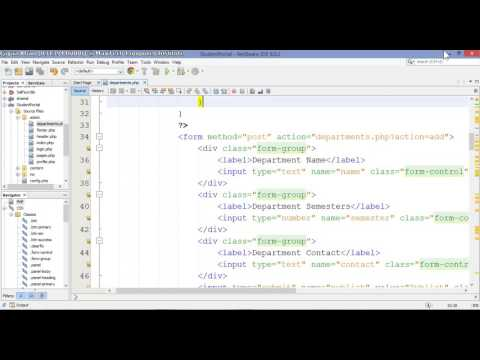 11 – Student Portal in PHP/MySQL (Pashto)