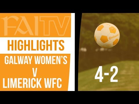 HIGHLIGHTS: Galway Women's 4-2 Limerick WFC