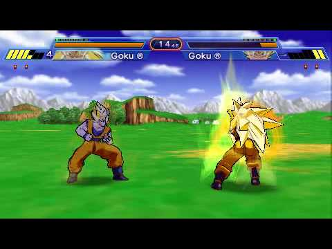 Dragon Ball Z: Shin Budokai - PSP - Personagens + Gameplay