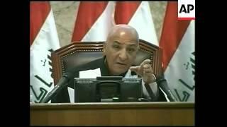 Trial of former Saddam loyalist Tariq Aziz under way