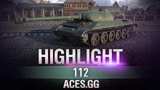 Апнутый китаец.112 в World of Tanks!