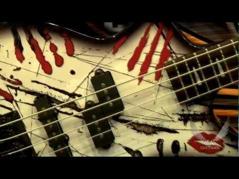 DEAN GUITARS NAMM 2012 Black Veil Brides / Ashley Purdy