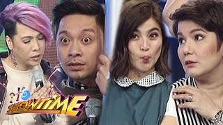 It's Showtime: It's Showtime hosts' faces when scared