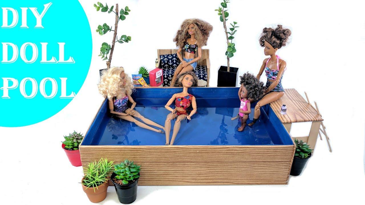 Кукольный бассейн своими руками 56