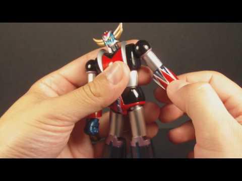 Metaltech 01 Ufo Robot Grendizer Chogokin Review video