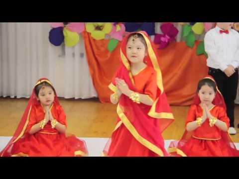 Балабакша Акжелкен Ак Сункар тобы Индийский танец