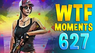 PUBG WTF Daily Moments Highlights Ep 627