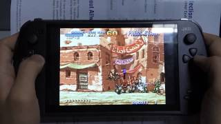 [01GameplayMetal Slug 2 Video game running on JXD S7800B handheld] Video