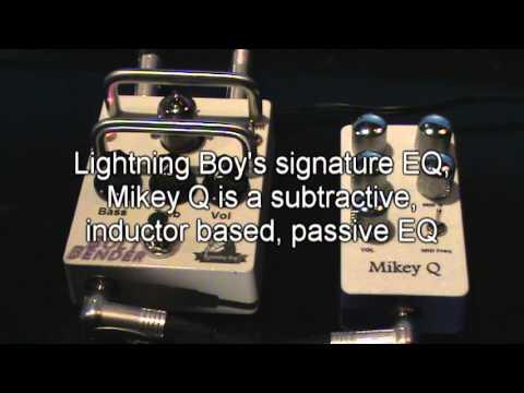 Bolt Bender vacuum tube EQ pedal by Lightning Boy Audio