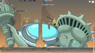 Вормикс на андроид боссы(Стражи Недр) - YouTube