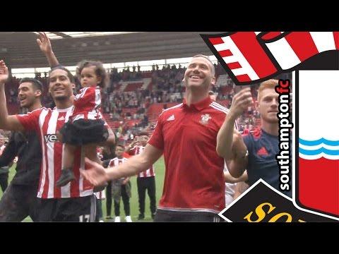 Southampton's lap of appreciation after Palace win